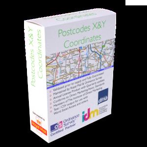 Postcode Longitudes Latitudes Table | List